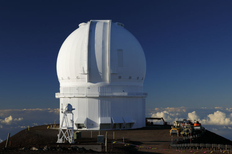 Canada-France-Hawaii telescope on Mauna Kea