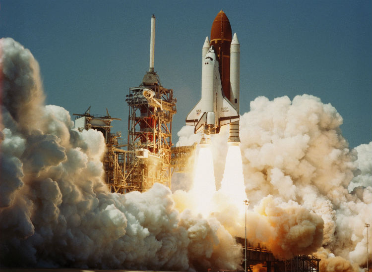 Challenger Space Shuttle Launch