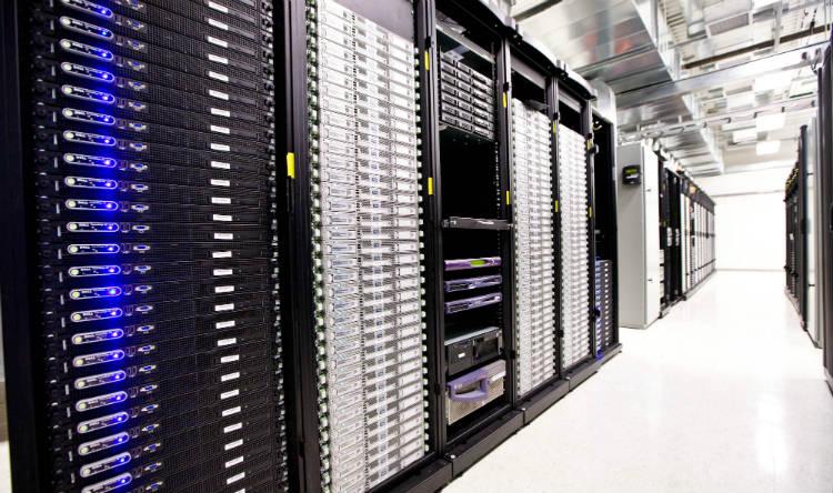 inside of a datacenter