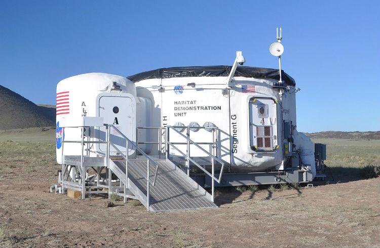 Simulated Mars habitat