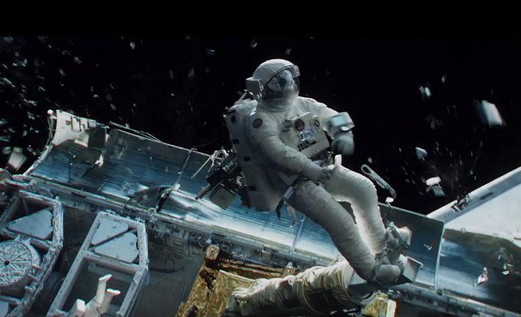 Scene from Gravity