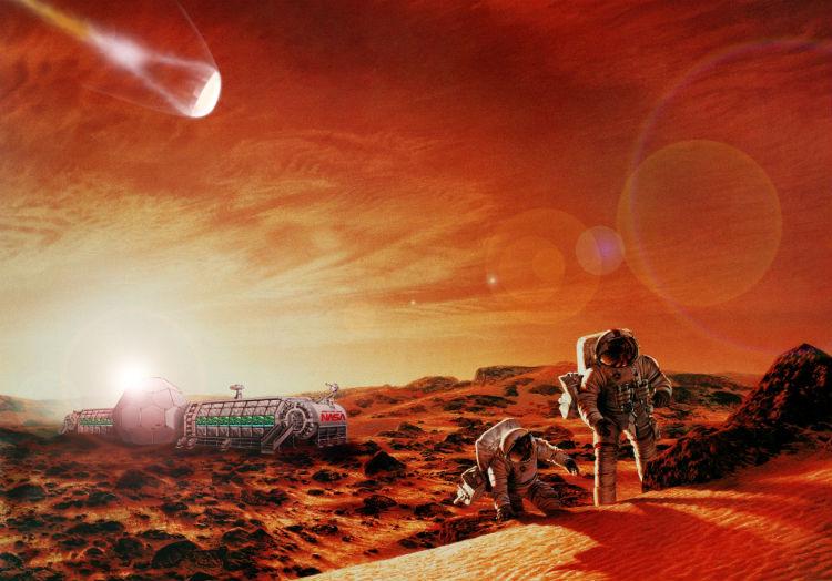 Mars Mission Concept Art