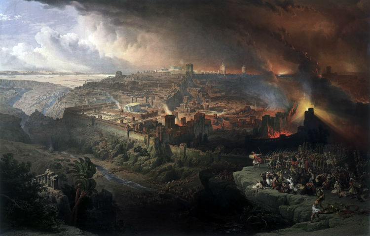 The Siege and Destruction of Jerusalem by the Romans Under the Command of Titus