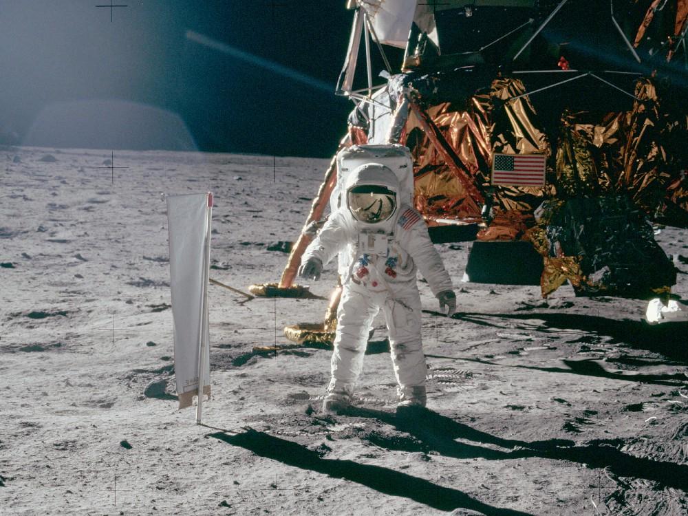 Buzz Aldrin Apollo 11 Lunar Lander