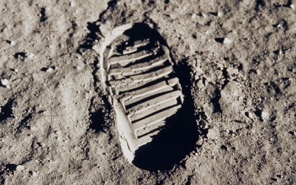 The Bootprint of Apollo 11
