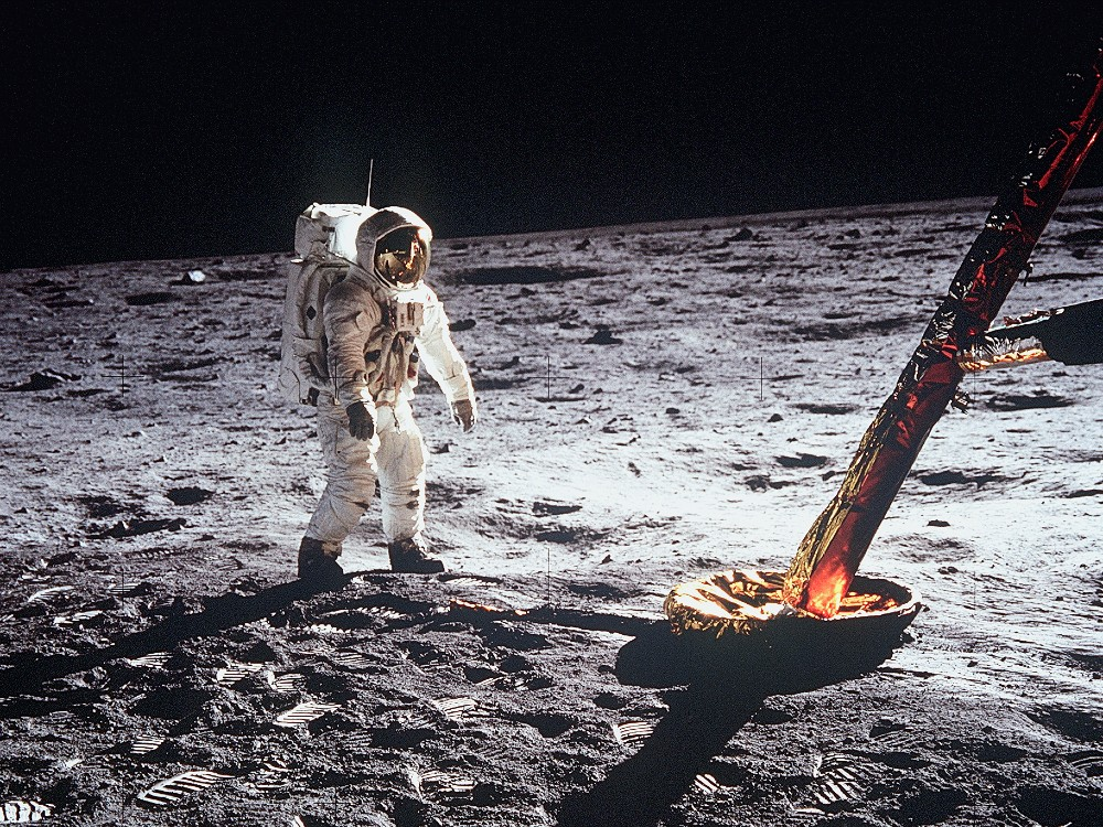 Buzz Aldrin Apollo 11 Moonwalk