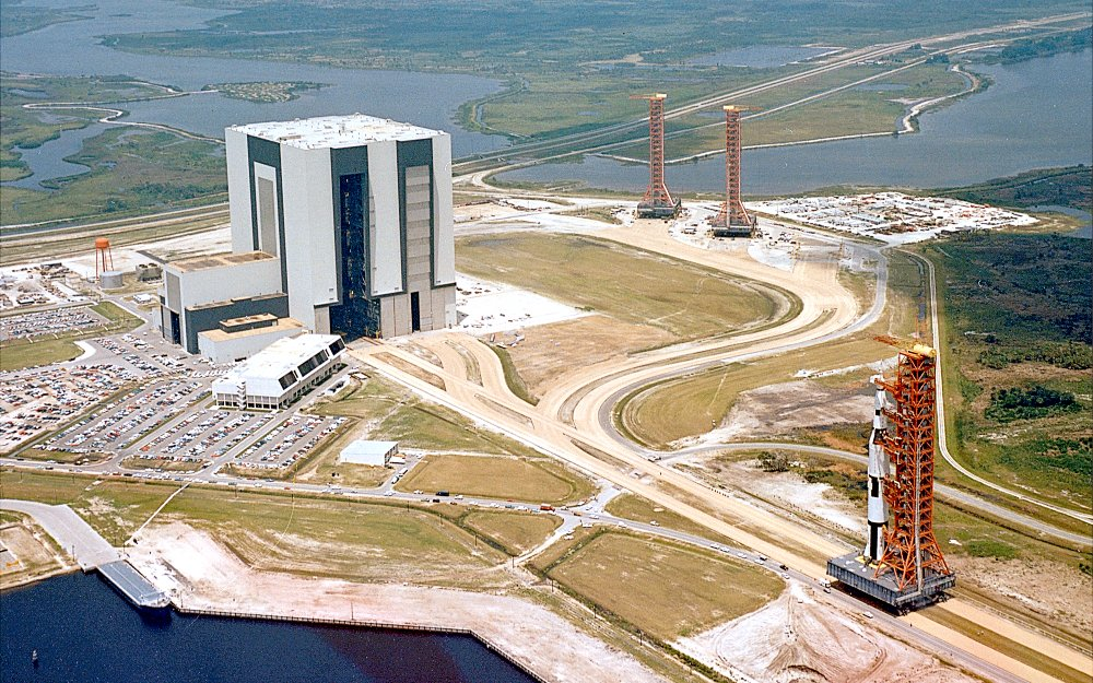 Prepping the Saturn V for Launch