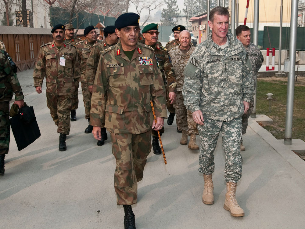 United States and Pakistan Army