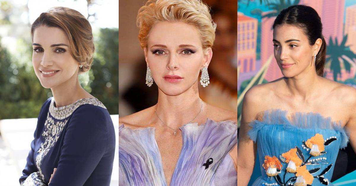 美貌与智慧不输凯特王妃,细看各国皇室魅力:约旦王后美得更惊人?