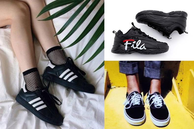 比高跟鞋还显腿长!年度精选5款经典黑球鞋,这2种女孩尤其必穿