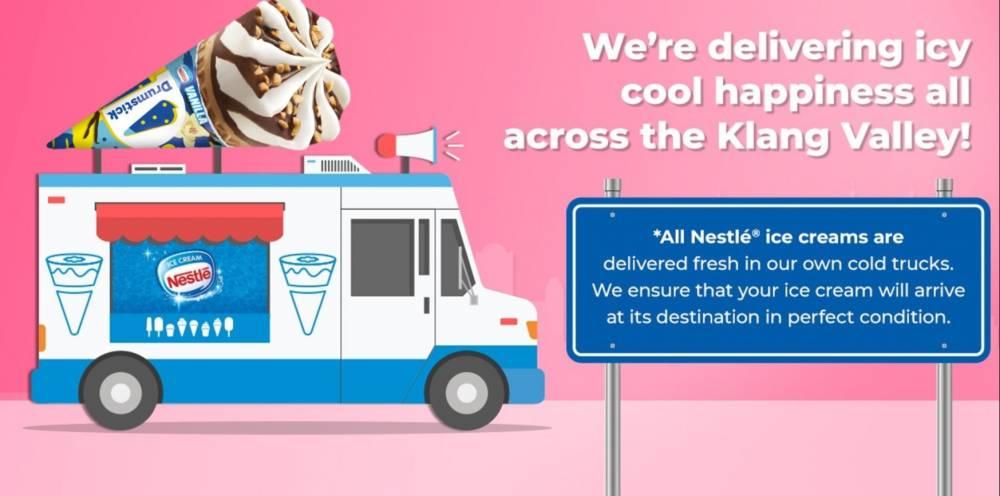 Nestle Ice Cream也可以Delivery了!KitKat、La Cremeria冰淇淋,你想要的全都有!