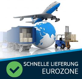 Schnelle Lieferung Eurozone