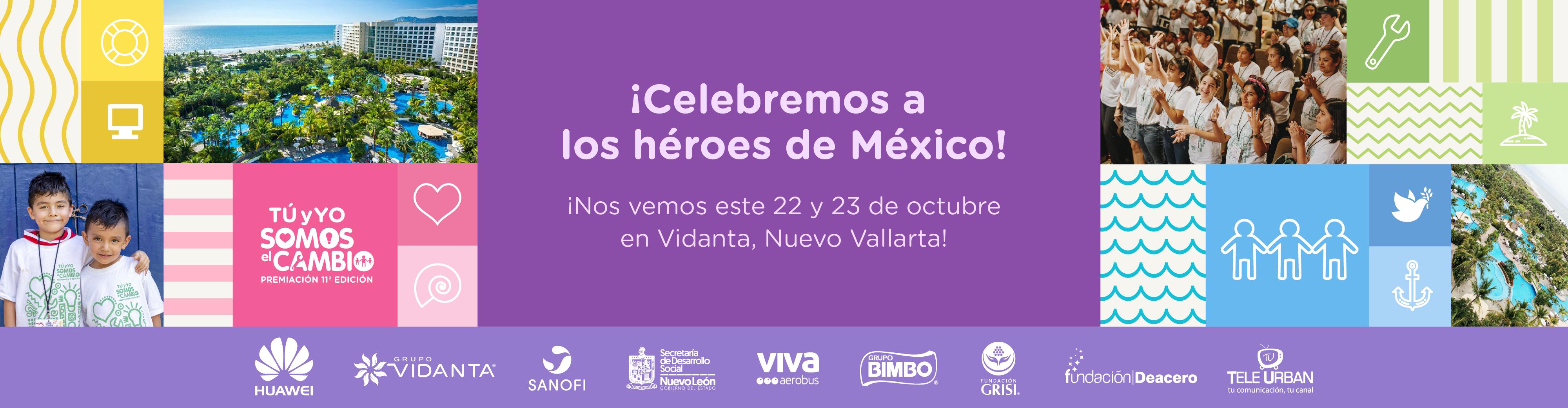 ¡Celebremos a los héroes de México!