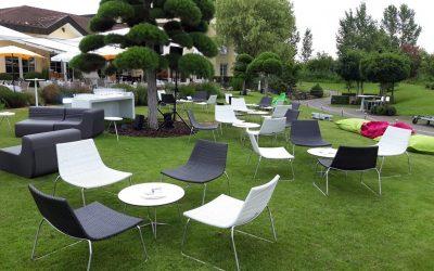 Sommerfest mit Outdoor Lounge
