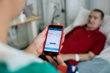 Working with the NHS to build lifesaving technology