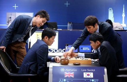 AlphaGo 대국 - 한국어