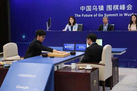 AlphaGo at The Future Of Go Summit