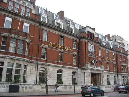 Our partnership with Moorfields Eye Hospital NHS Foundation Trust
