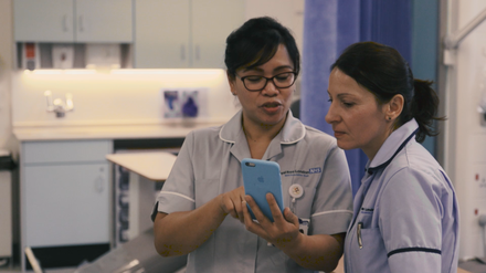 Our work with the NHS