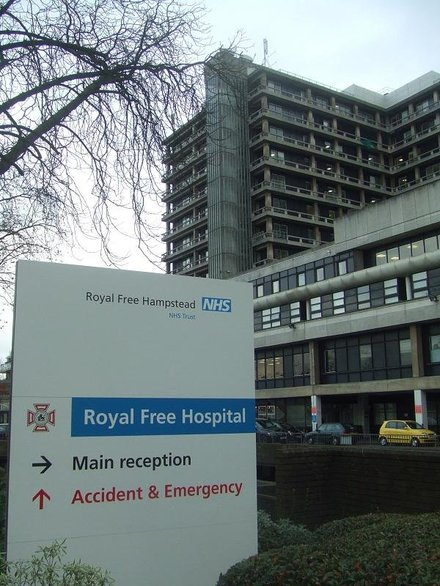 Our work with the Royal Free London NHS Foundation Trust