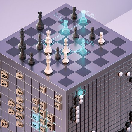 AlphaZero: Shedding new light on the grand games of chess, shogi and Go