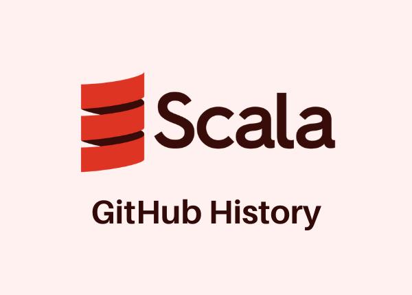 The GitHub History of the Scala Language –image
