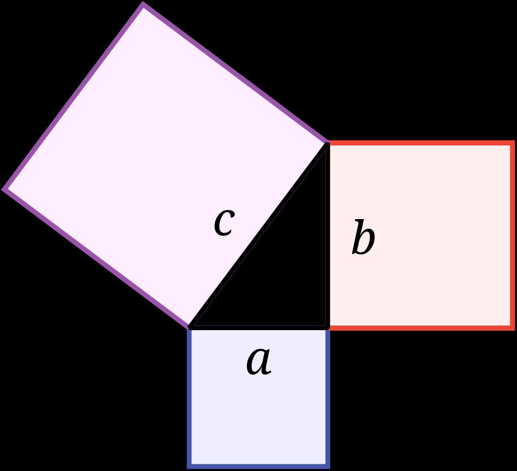 Pythagorean theorem calculator –image