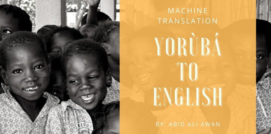 Yorùbá Machine Translation –image