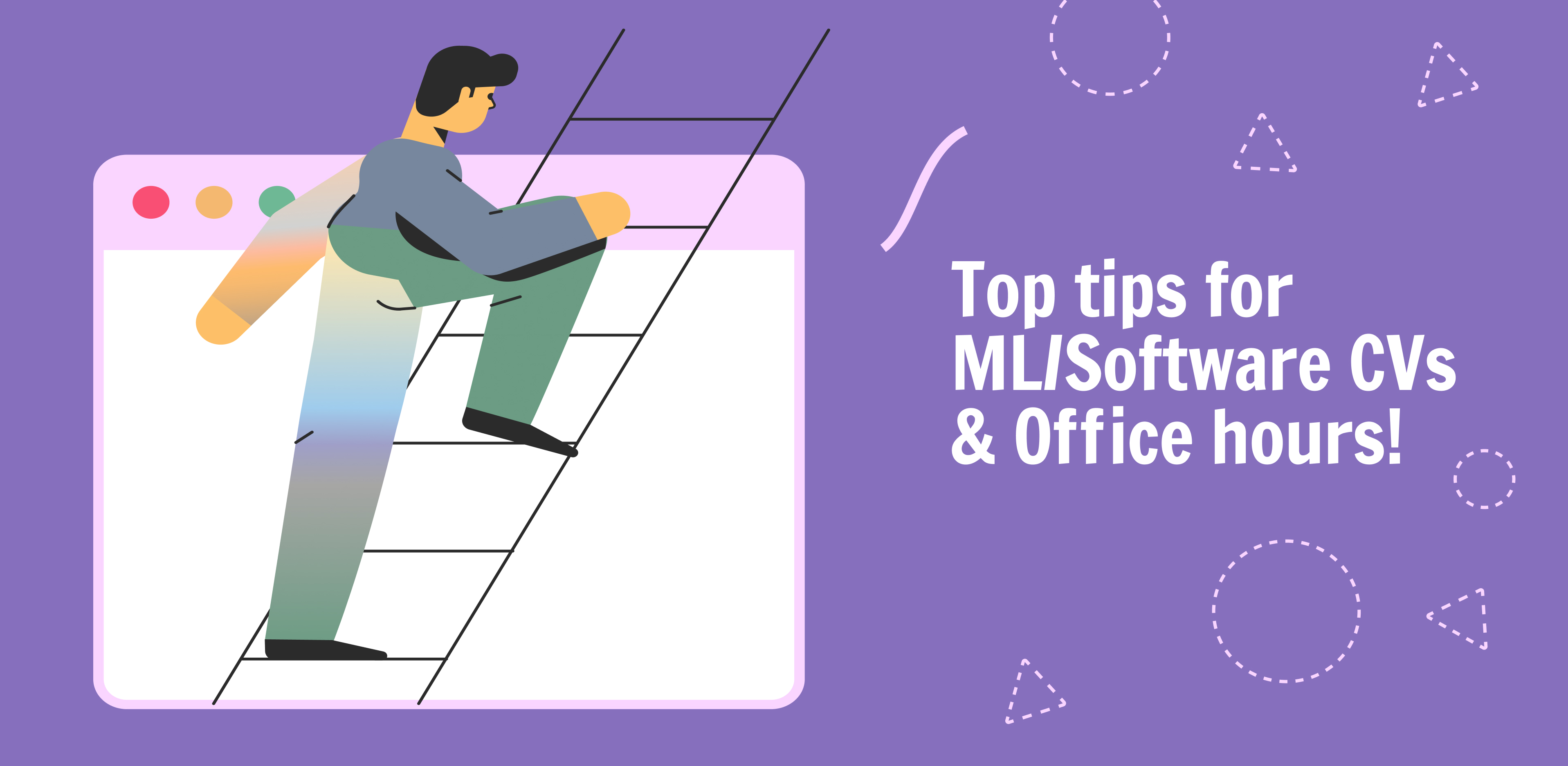 Top tips for ML/Software CV –image