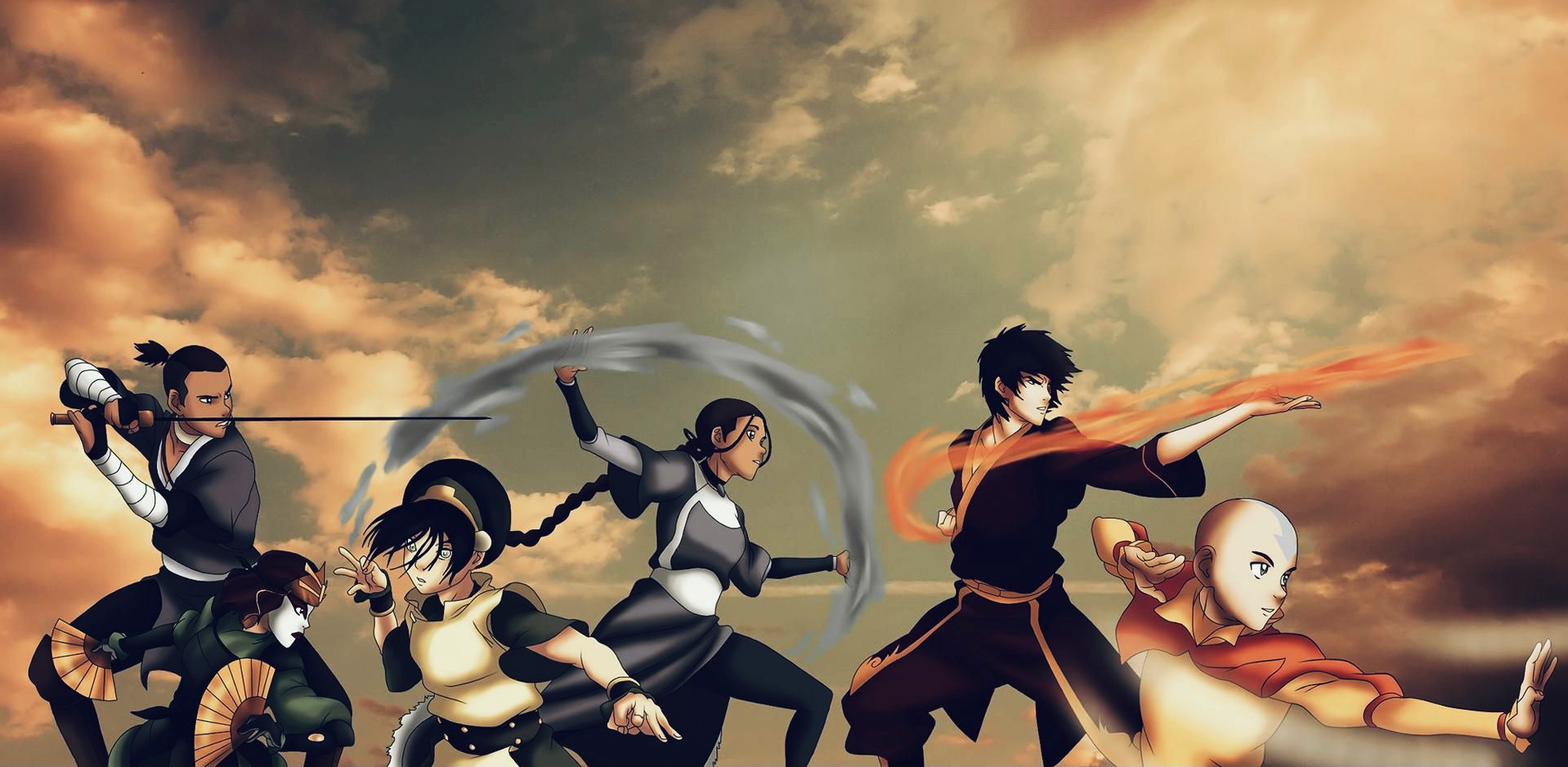 Avatar The Last Airbender: Connecting Data Science to the Four Forces of Nature –image
