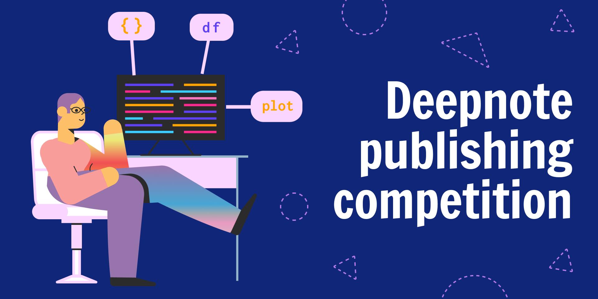Deepnote publishing competition (April 2021) –image