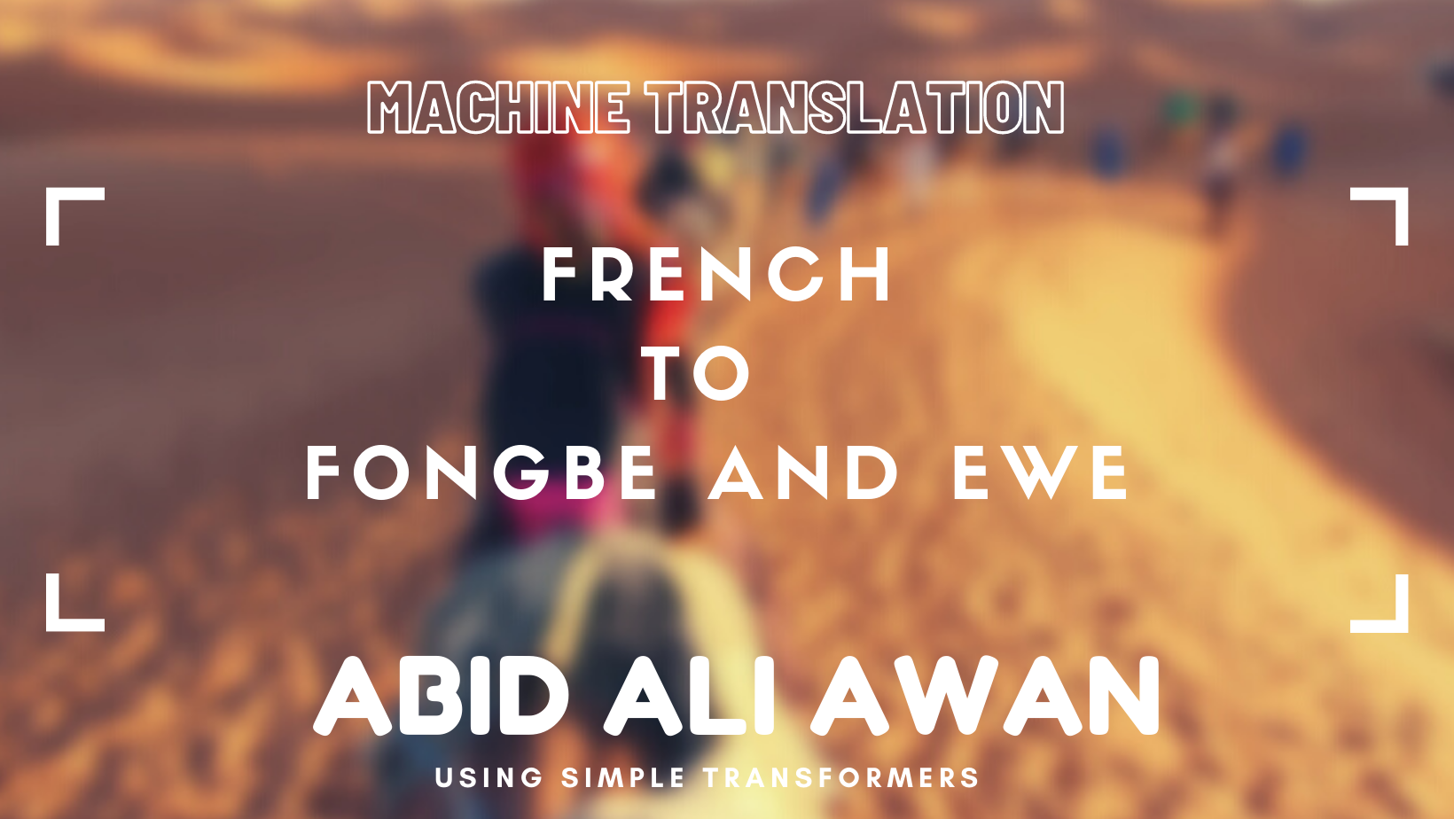 French to Fongbe and Ewe –image