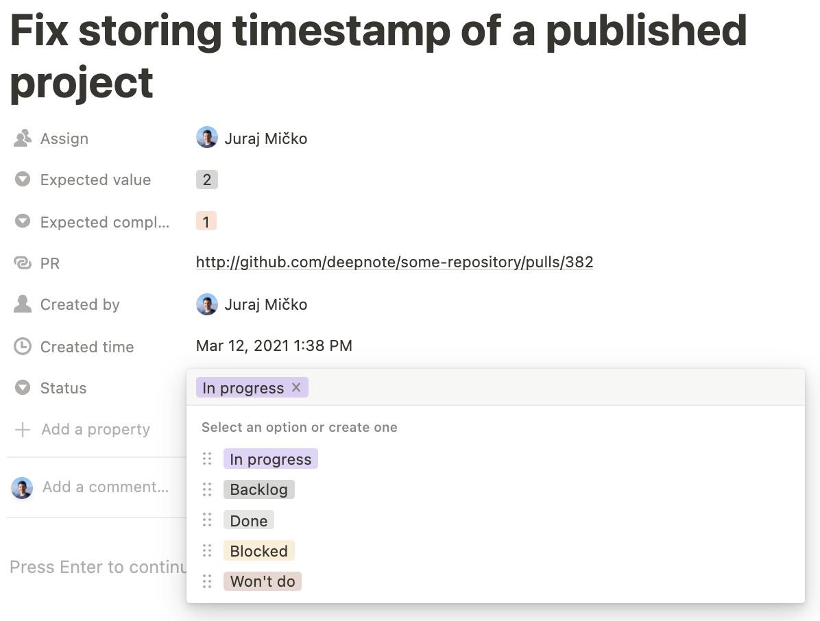 GitHub and Notion Integration in Python –image