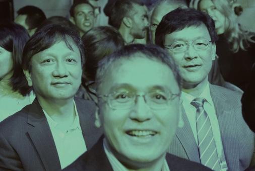 動態生醫指標團隊(Dr. Edward Chang 張智威, Dr. Chung-Kang Peng 彭仲康)
