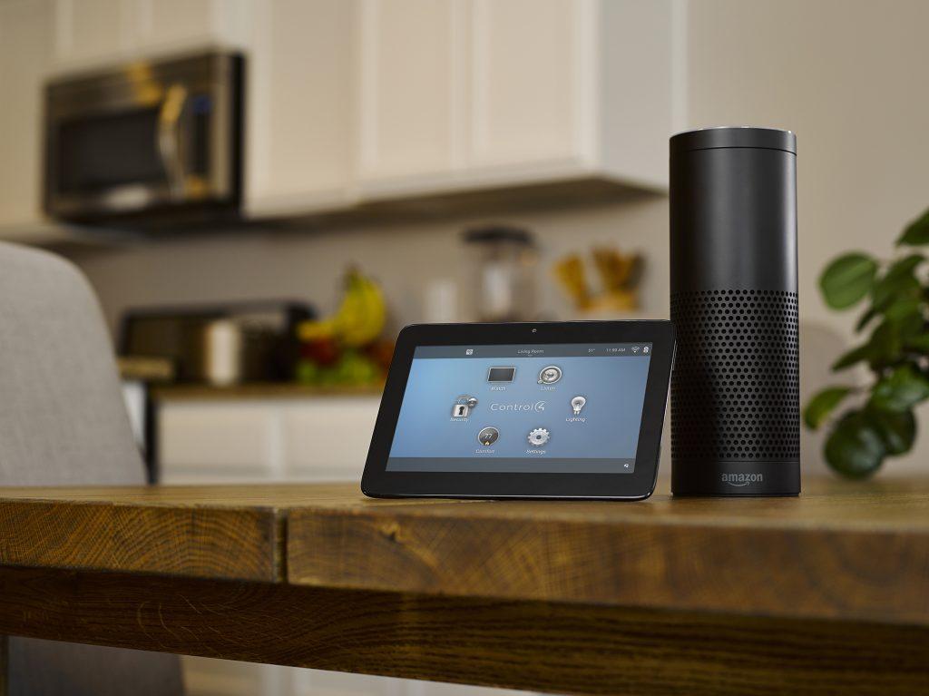 Control4 Amazon Alexa Voice control for smart homes in Southern California