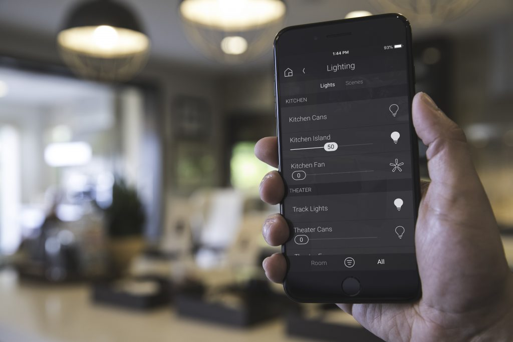 Control4 Mobile Apps on iPhone