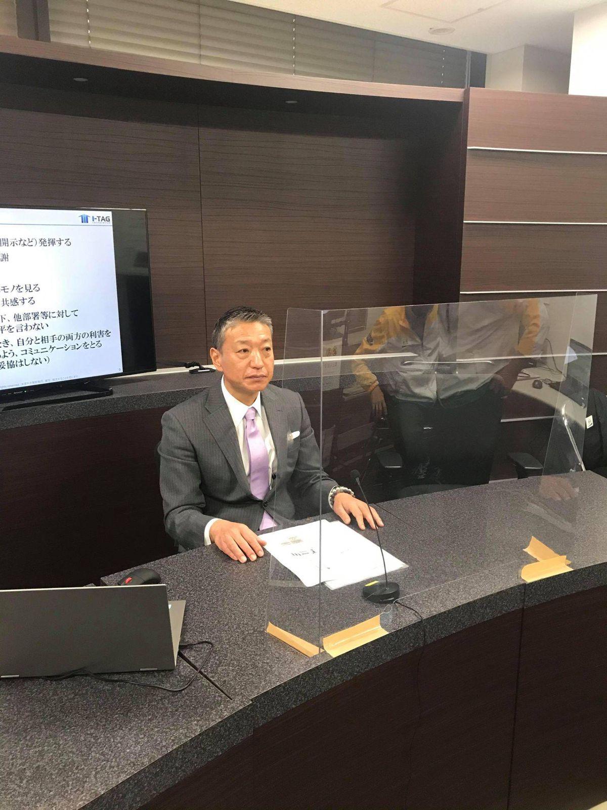 【講演】明治安田生命保険相互会社様にて講演を実施