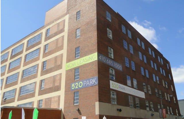 520 Park Apartment Baltimore