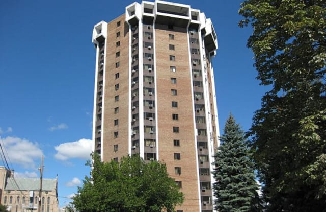 Cathedral Tower Apartment Detroit