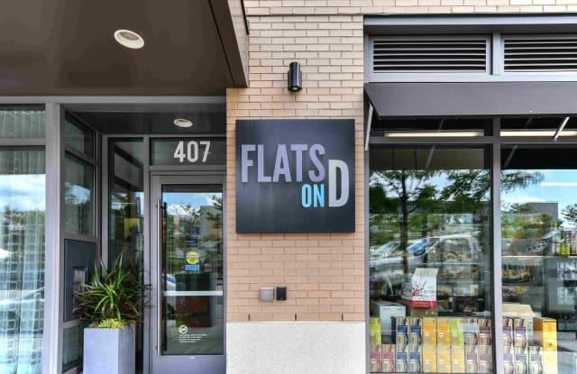 Flats on D Apartment Boston