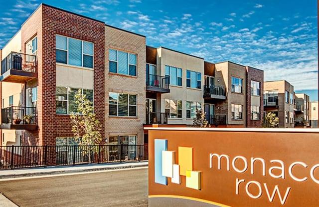 Monaco Row Apartment Denver
