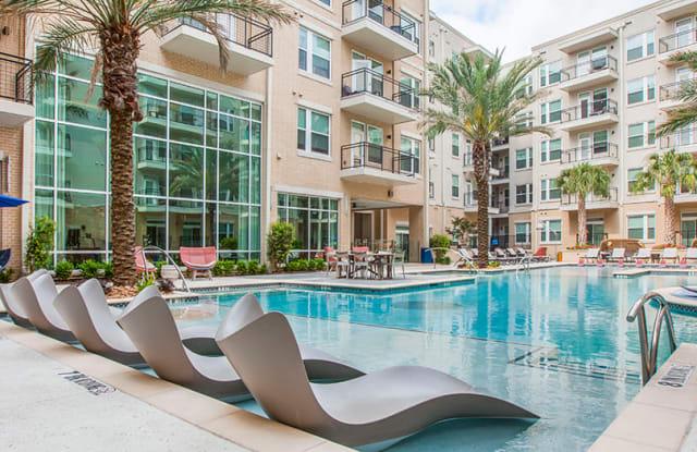 Post at Afton Oaks Apartment Houston