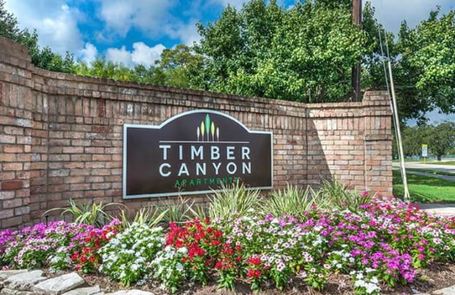 Timber Canyon Apartment Houston