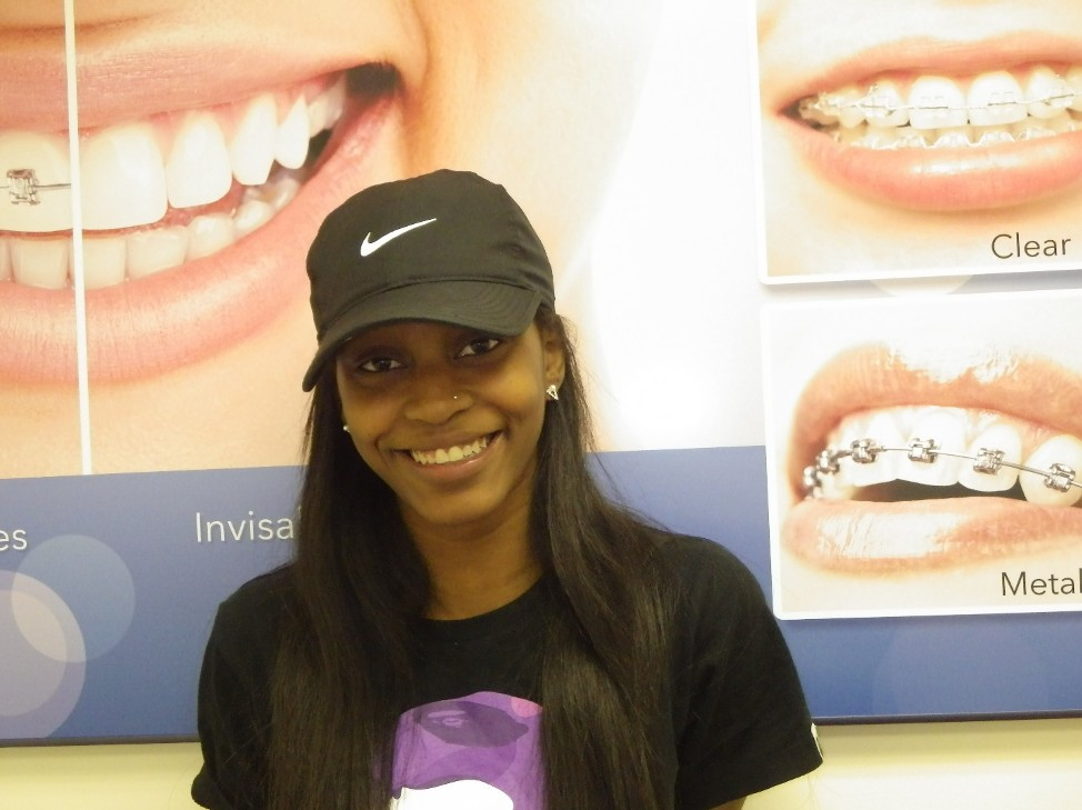 Atika All Smiles After Metal Braces from Diamond Braces Edison