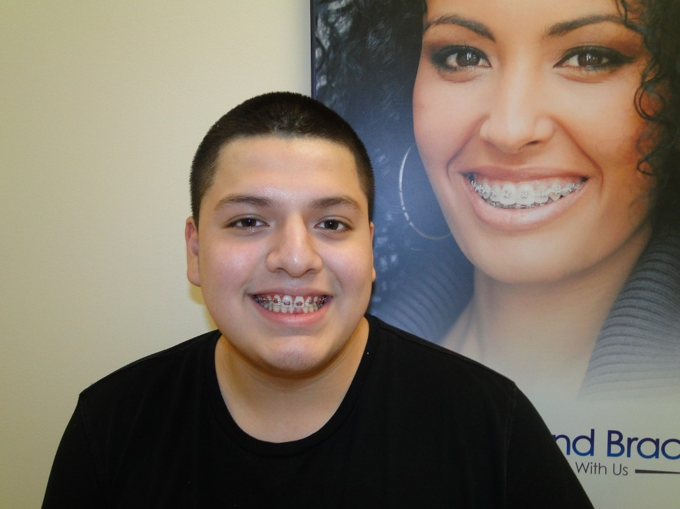 Bryan is close to being finished with braces from Diamond Braces Clifton, New Jersey