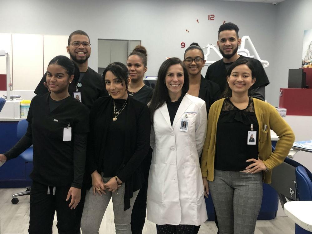 The orthodontic team at Diamond Braces new 132 E Fordham Rd, Bronx, NY location