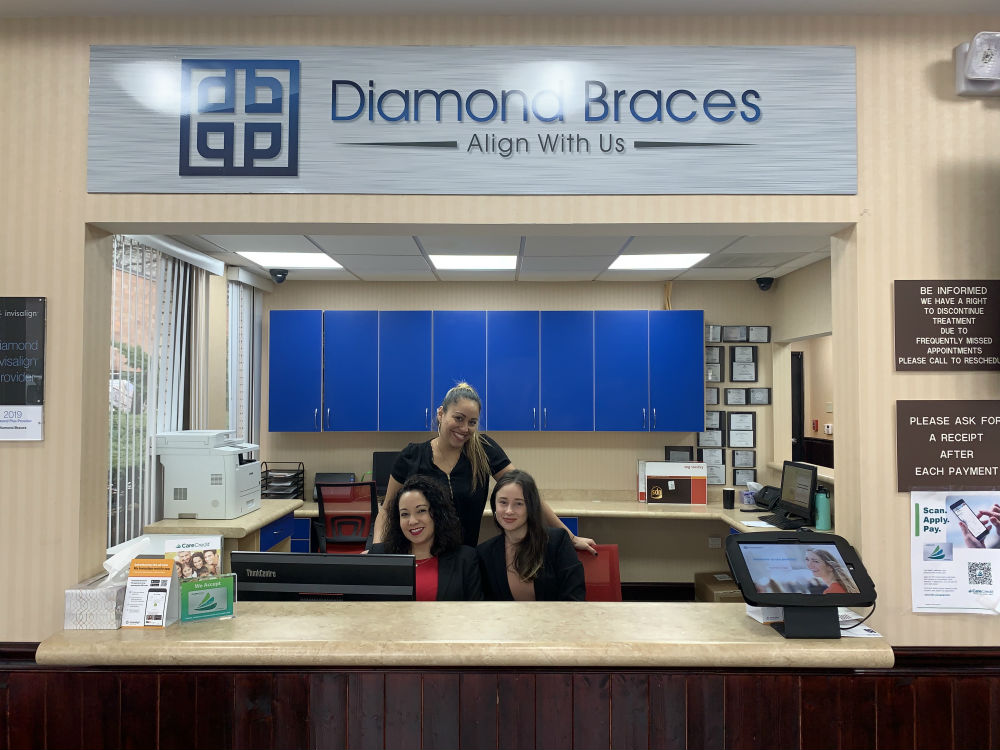 Diamond Braces Bethpage NY Braces Kids Front Desk