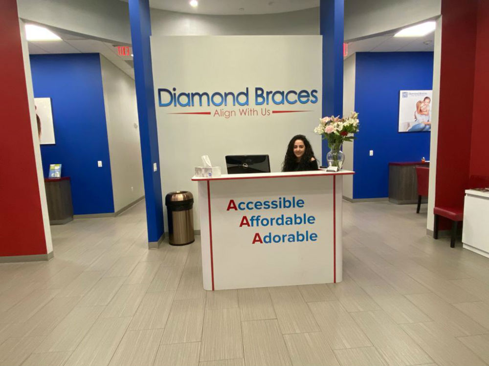Diamond Braces North Bergen New Jersey Front Desk