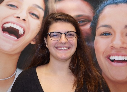 Victoria Grinning After Braces from Clifton Orthodontist