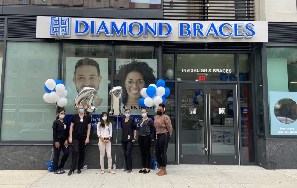Diamond Braces Opens New Orthodontist Office in Hell's Kitchen Manhattan